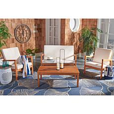 Safavieh Larence 4-piece Outdoor Living Set