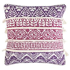 "Safavieh Mela 18"" x 18"" Pillow"