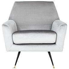 Safavieh Nynette Velvet Retro Mid-Century Accent Chair
