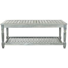 Safavieh Oakley Outdoor Coffee Table - Gray Finish