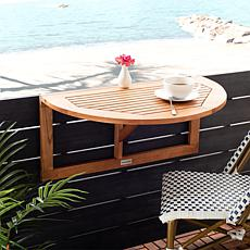 Safavieh Owens Balcony Hanging Half Table