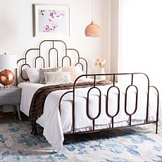 Safavieh Paloma Metal Retro Bed - Queen