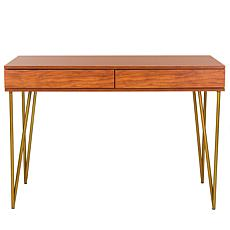 Safavieh Pine Two-Drawer Desk