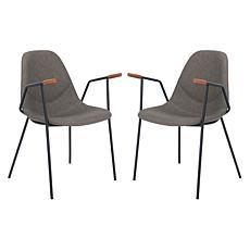 Safavieh Tanner Mid-Century Dining Chair - Set of 2
