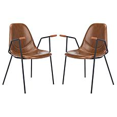 Safavieh Tanner Mid-Century Dining Chair - Set of 2