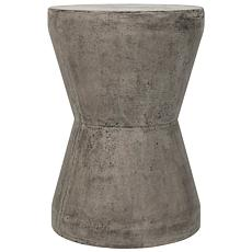 Safavieh Torre Concrete Accent Table - Gray
