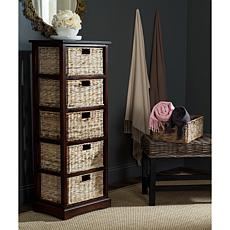 Safavieh Vedette 5 Wicker Basket Storage Chest