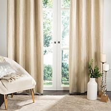 "Safavieh Veria Window Panel - Beige - 52"" x 84"""