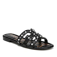 Sam Edelman Bay 2 Leather Slide with Hardware