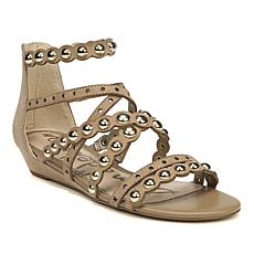 Sam Edelman Dustee Suede Demi-Wedge Gladiator Sandal