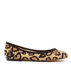 ba2339b4fa Sam Edelman Felicia Haircalf Leopard-Print Ballet Flat