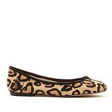 Sam Edelman Felicia Haircalf Leopard-Print Ballet Flat