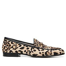 Sam Edelman Loraine Leopard Print Haircalf Loafer