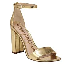 Sam Edelman Yaro Leather High-Heel Strappy Sandal