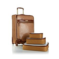 """Samantha Brown 25"""" Upright Spinner with Packing Cubes"""