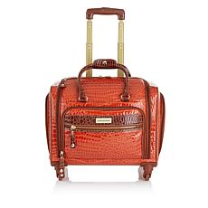 Samantha Brown Croco-Embossed Cabin Bag