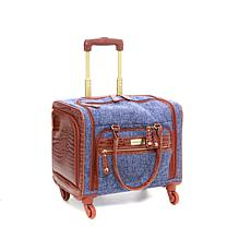 "Samantha Brown Tweed 16"" Cabin Bag"