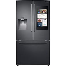 Samsung 24 Cu.Ft. Family Hub 2.0 Black Stainless Steel Refrigerator