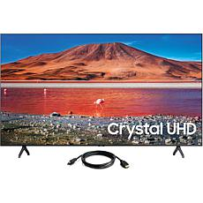 "Samsung 50"" TU7000 Crystal UHD 4K Smart TV (2020) with HDMI Cable"