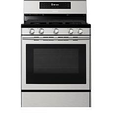 Samsung 5.8 Cu. Ft. Freestanding Gas Range with Convection - Steel