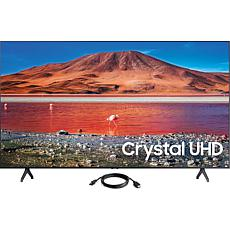 "Samsung 58"" TU7000 Crystal UHD 4K Smart TV (2020) with HDMI Cable"