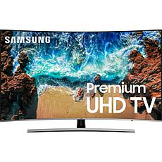 "Samsung 65"" NU8500 Curved 4K UHD Smart HDTV & Voice Assistant Remote"