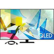 "Samsung 65"" Q80T QLED 4K UHD HDR Smart TV with HDMI Cable"