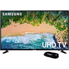 "Samsung NU6900 43"" 4K UHD Smart TV with 6' HDMI Cable"