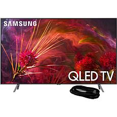 "Samsung Q8FN 55"" QLED Flat 4K TV with 6' HDMI Cable"