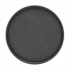San Remo Vinyl-Covered Round Serving Tray - 14""