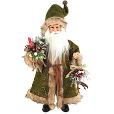 Santa's Workshop 15' Green Forest Claus Figurine
