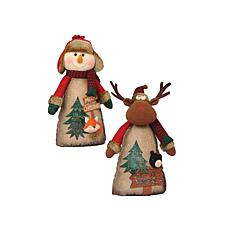 Santa's Workshop 16' Timber Folk Figurines