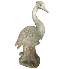 Santa's Workshop Cold Cast Heron Figurine
