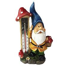 Santa's Workshop Gnome Thermometer