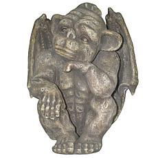 Santa's Workshop Resin Thinking Yard Gargoyle