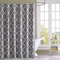 Saratoga Shower Curtain - Gray
