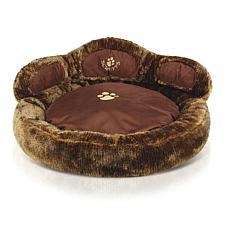Scruffs Cub Bear Dog Bed - Brown