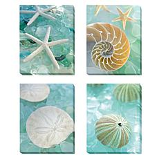 """Seaglass"" Gallery-Wrapped Canvas Wall Art"