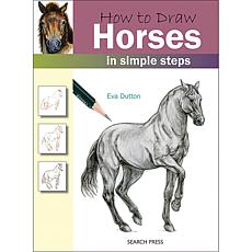 Search Press Books - How To Draw Horses by Eva Dutton