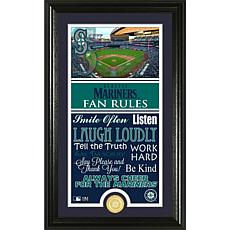 Seattle Mariners Fan Rules Supreme Bronze Coin Photo Mint