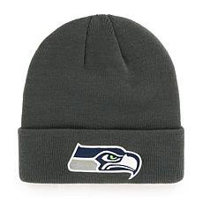 Seattle Seahawks NFL Gray Cuff Knit Beanie