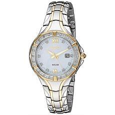Seiko Women's Two-Tone Stainless Steel Diamond Watch