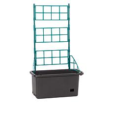 Self-Watering Mobile Veggie Patch with Trellis