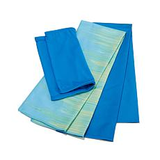 Serena Williams 3pk Cityscape Cooling Towels and Wrap