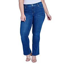 Seven7 Plus-size Mid-Rise Slim Bootcut Jean - Showtime