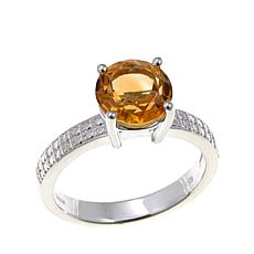 Sevilla Silver™ 1.63ct Citrine Solitaire Ring