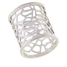 Sevilla Silver™ Openwork Wide Band Ring