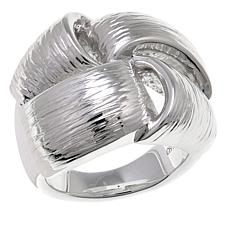 Sevilla Silver™ Textured Woven Electroform Ring