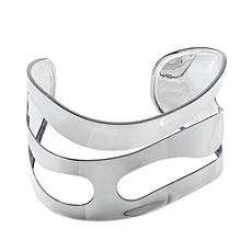 Sevilla Silver™ Wavy Cut-Out Wide Band Cuff Bracelet