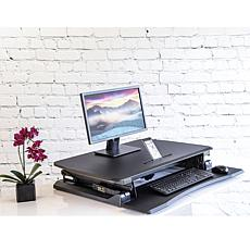 Seville Classics AIRLIFT Standing Electric Desk with USB Port